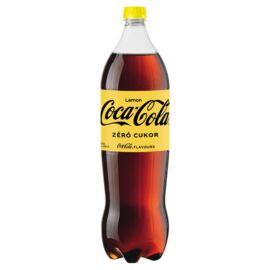 Coca-Cola Zero cola- és citromízű energiamentes szénsavas üdítőital édesítőszerekkel 1,75 l