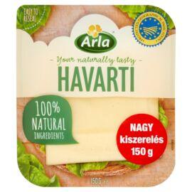 Arla szeletelt havarti röglyukas zsírdús, félkemény sajt 150 g