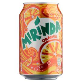 Mirinda narancs szénsavas üdítőital cukorral és édesítőszerekkel 330 ml