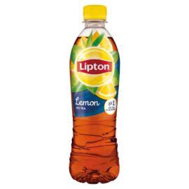 Lipton Ice Tea citromízű szénsavmentes üdítőital cukorral és édesítőszerrel 500 ml
