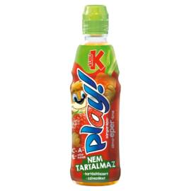 Kubu Play! sárgarépa-alma-eper-lime ital 400 ml
