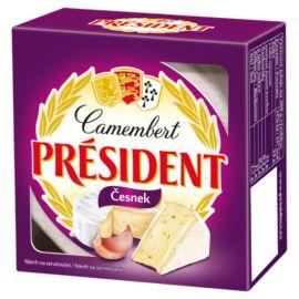 Président Camembert fokhagymás ízesítéssel 90 g