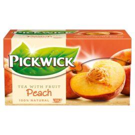 Pickwick őszibarackízű fekete tea 20 filter 30 g