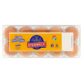 Gyermelyi friss tojás M 10 db