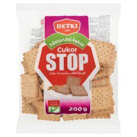 Detki Cukor Stop háztartási keksz 200 g