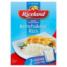 Riceland Konyhakész rizs 'A' minőségű hántolt hosszúszemű 2 x 125 g