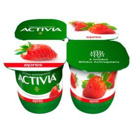 Danone Activia élőflórás epres joghurt 4 x 125 g (500 g)
