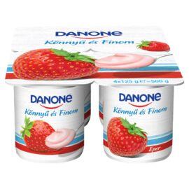 Danone eperízű, élőflórás, zsírszegény joghurt 4 x 125 g
