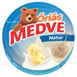 Medve natúr sajt 8 x 25 g (200 g)