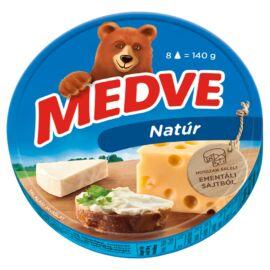 Medve natúr, kenhető, zsíros, ömlesztett sajt 8 x 17,5 g (140 g)
