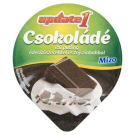 Mizo Update 1 csokoládé ízű puding édesítőszerekkel és tejszínhabbal 125 g