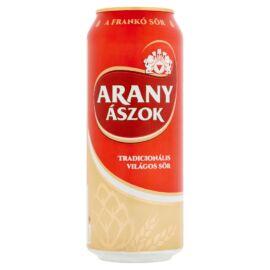 Arany Ászok világos sör 4,3% 0,5 l
