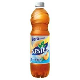 Nestea Zero őszibarack ízű cukormentes tea üdítőital édesítőszerekkel 1,5 l