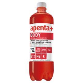 Apenta+ Body arónia-meggy ízű szénsavmentes üdítőital édesítőszerekkel, vitaminokkal 750 ml