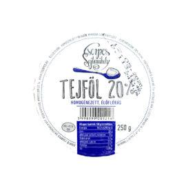 CSERPES TEJFOL 20% 250GR