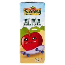 Szobi szűrt almaital cukorral és édesítőszerekkel 0,2 l