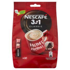 Nescafé 3in1 Classic azonnal oldódó kávéspecialitás 10 db 170 g