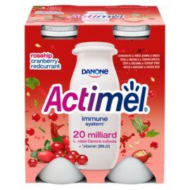 Danone Actimel zsírszegény, élőflórás, gránátalma-maca-áfonyaízű joghurtital 4 x 100 g (400 g)