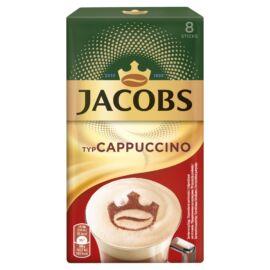 Jacobs azonnal oldódó kávéitalpor cukorral és sovány tejporral 8 x 14,4 g (115,2 g)
