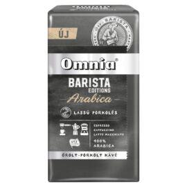 Omnia Barista Editions Arabica őrölt-pörkölt kávé 225 g