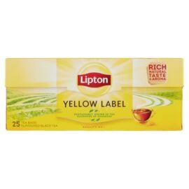 Lipton Yellow Label ízesített fekete tea 25 filter 50 g