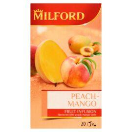 Milford Fruit Infusion őszibarack-mangó ízű gyümölcstea 20 filter 55 g