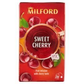 Milford Sweet Cherry cseresznye ízű gyümölcstea 20 filter 40 g