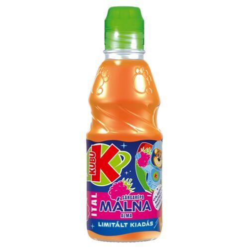 Kubu sárgarépa-málna-alma ital 300 ml