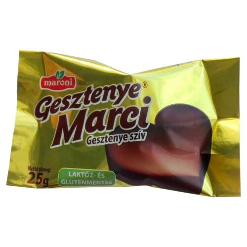 Maroni Gesztenye Marci gesztenye szív 25 g