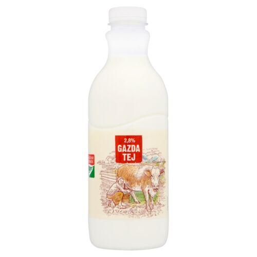 Gazda félzsíros tej 2,8% 1 l