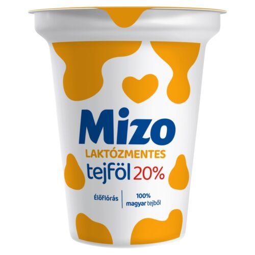 Mizo laktózmentes tejföl 20% 330 g