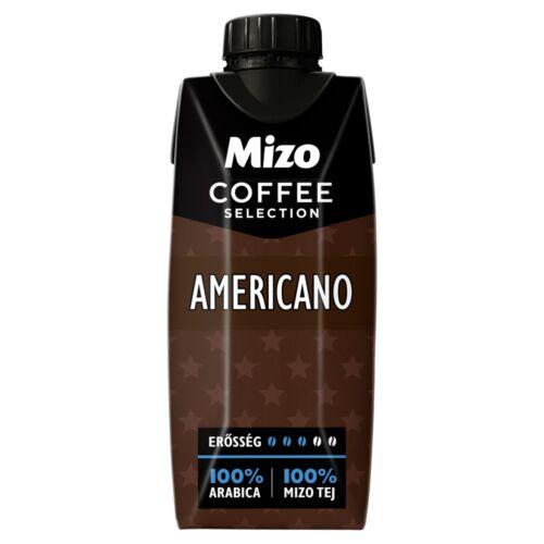 Mizo Coffee Selection Americano UHT zsírszegény kávés tej 330 ml