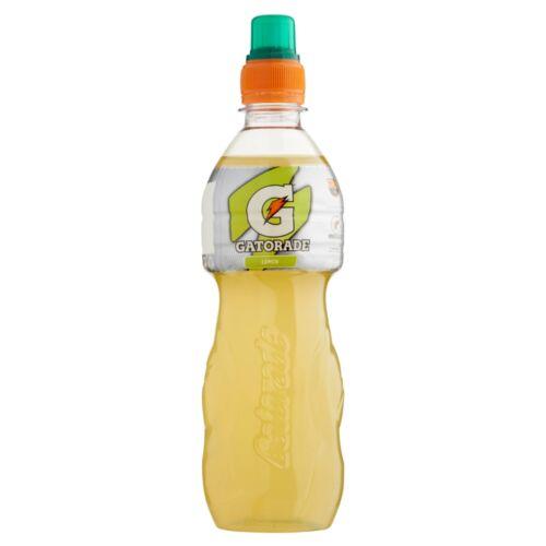 Gatorade szénsavmentes citromízű izotóniás sportital cukorral és édesítőszerekkel 500 ml