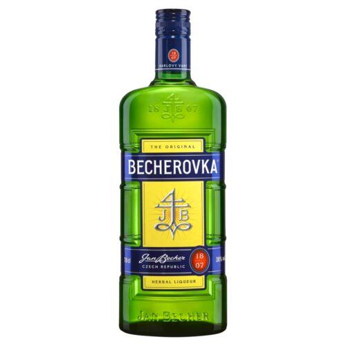Becherovka gyógynövény likőr 38% 70 cl